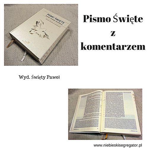 Niebieski Segregator - Pismo Święte z komentarzem - wydawnictwo Święty Paweł