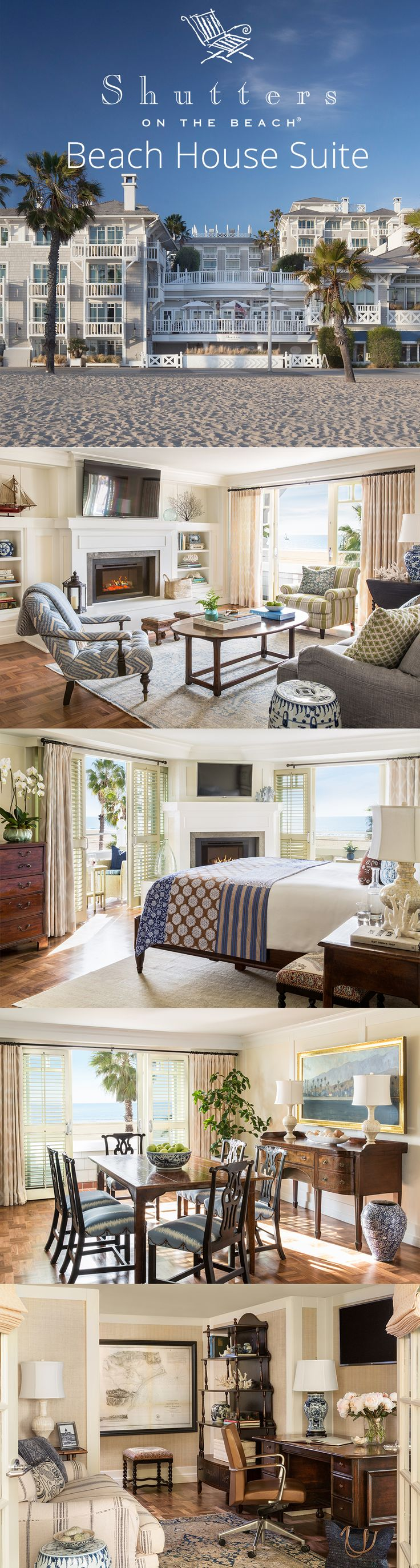 The beach house suite at luxury hotel shutters on the beach in santa monica california