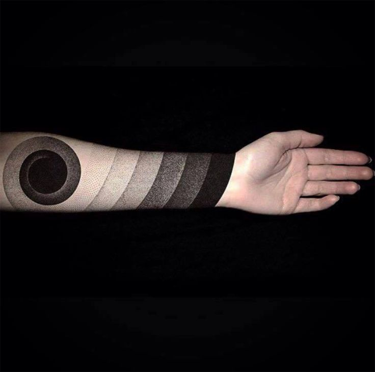 Blackout tattoo. Ok. This one is extremely cool