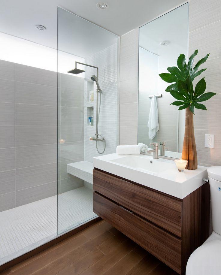 Contemporary Bathroom Design Ideas, Bathroom Photos, Makeovers and Decor  Master bathroom decor ideas