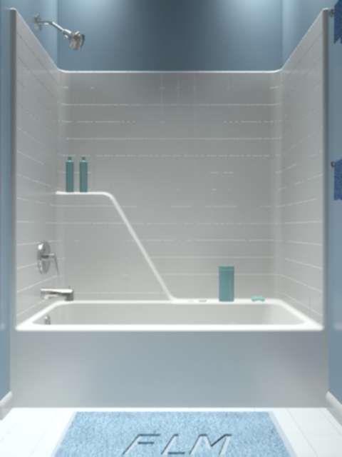 Fiberglass Tub Shower Combo