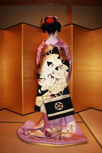 Maiko Geisha Geiko Kimono