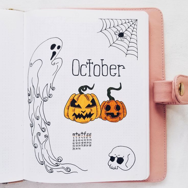 Oktober Bullet Journal Setup – #Bullet #Journal #Oktober #Planen #SetUp