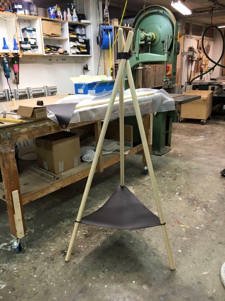 Tripod display stand. #sandqvist #wip #workinprogress #display #productdisplay #dawnofideas