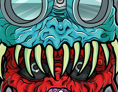 """Check out new work on my @Behance portfolio: """"Crusheads"""" http://be.net/gallery/48134879/Crusheads"""