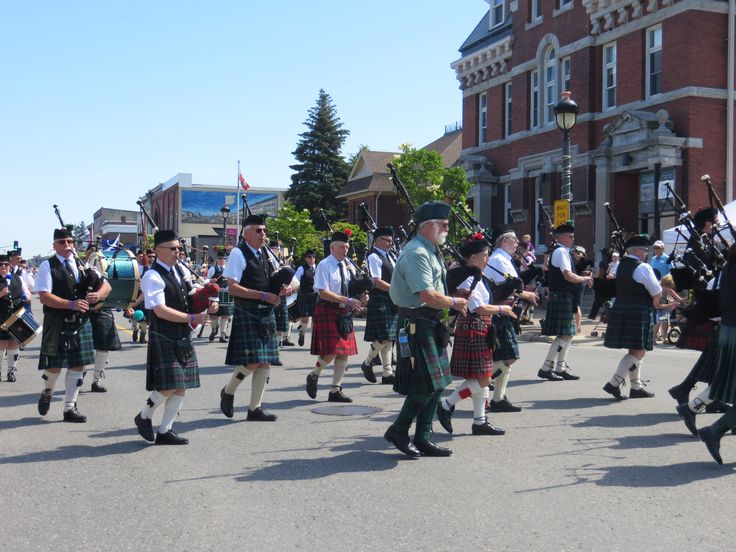 Kincardine Scottish Festival and Highland Games, first weekend in July (after the long weekend) Kincardine, ON