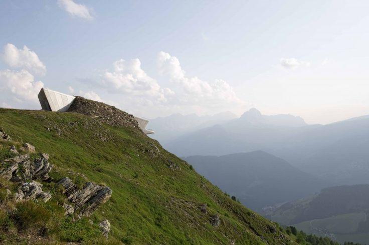 Messner Mountain Museum Corones - Architecture - Zaha Hadid Architects