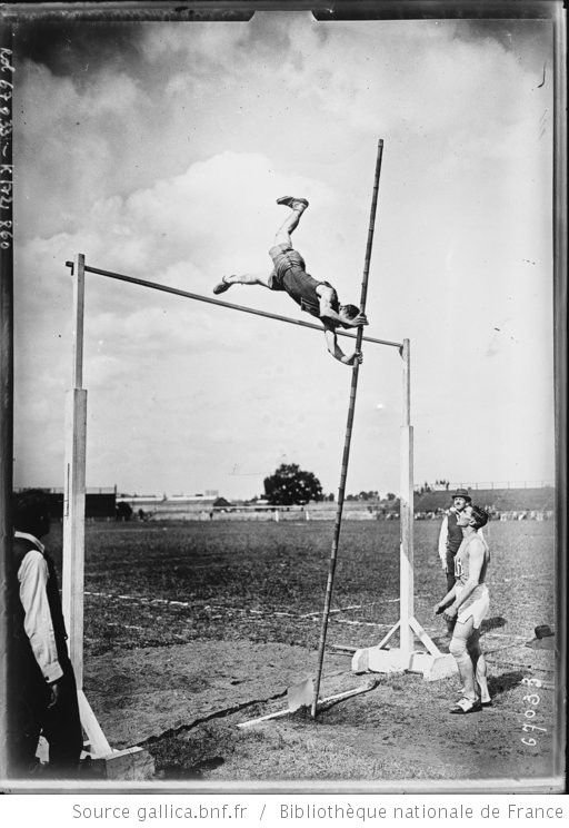 [Colombes, 26/6/21, championnats de Paris d'athlétisme, saut à la perche] : [photographie de presse] / [Agence Rol] - 1