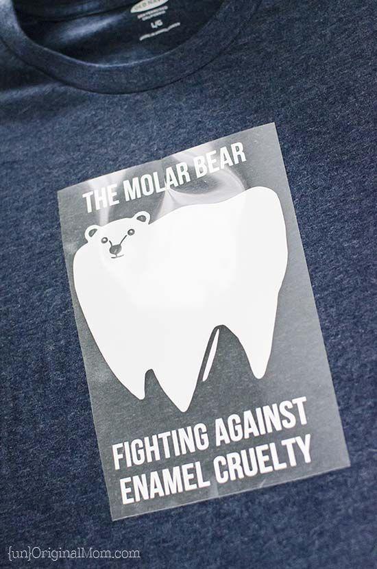 Molar Bear Dentist Pun Shirt