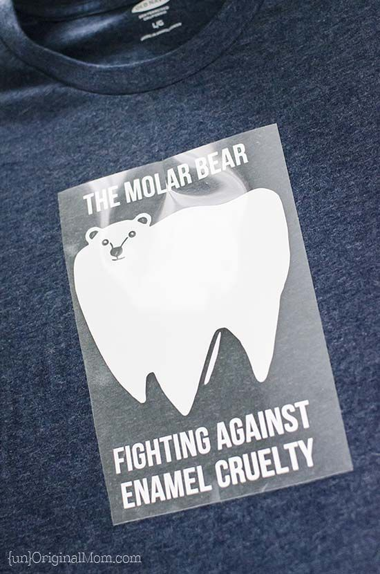 Molar Bear Dentist Pun Shirt