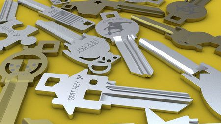 Stat Key Company introduces custom designed keys