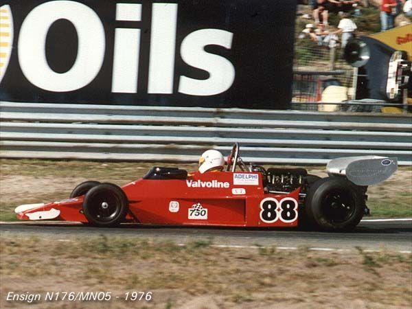 1976 Hans Binder, Ensign N176 Ford
