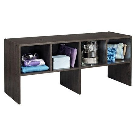 ClosetMaid 4-Compartment Closet Shelf Organizer - Espresso : Target