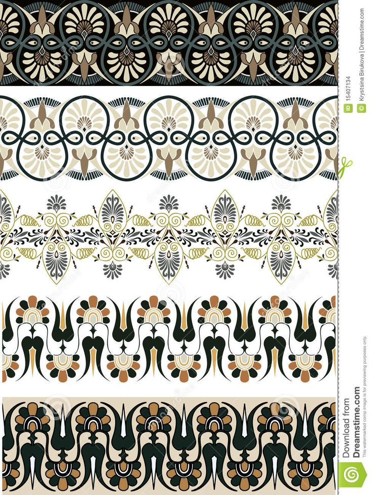 Ancient Greek Ornament Set For Design - Download From Over 26 Million High Quality Stock Photos, Images, Vectors. Sign up for FREE today. Image: 15407134