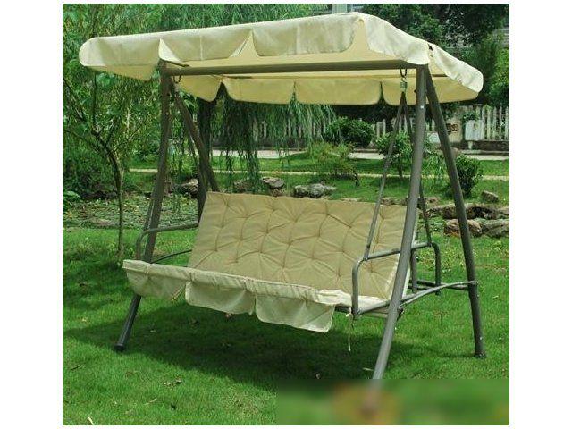 Stylowa i oryginalna huśtawka ogrodowa zapewni ci komfort wypoczynku wśród zieleni. Dzięki nowoczesnemu designowi huśtawka nie tylko zadba o Twoje odprężenie, podczas korzystania z niej, ale również uatrakcyjni wygląd Twojego otoczenia.