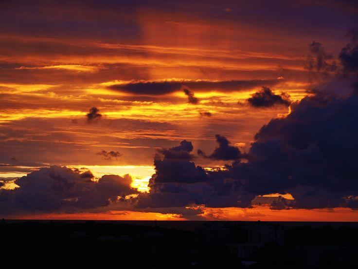 Sunset, Kołobrzeg, Poland