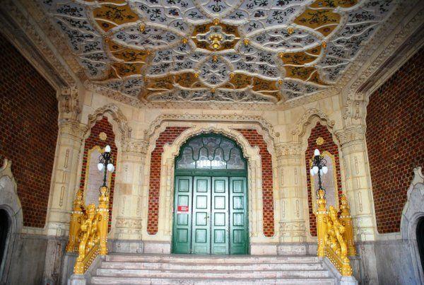 Iparművészeti Múzeum Az épület belülről