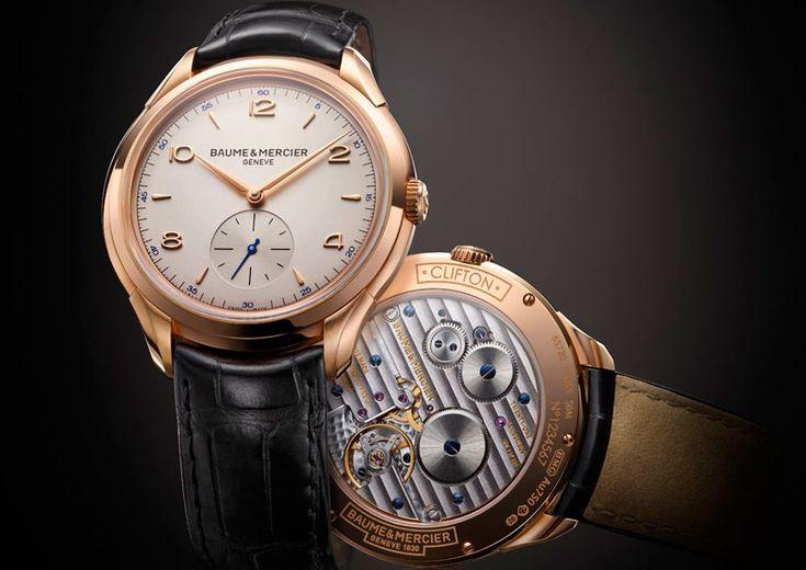 Baume & Mercier introduces Clifton 1830