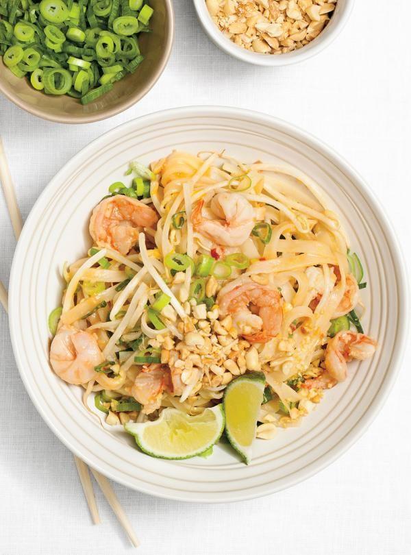 Recette de Ricardo de pad thaï aux crevettes