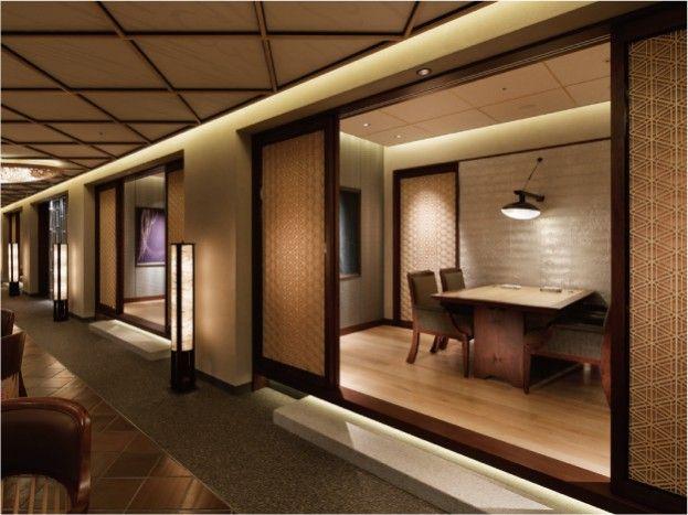 ザ・リッツ・カールトン京都  日本料理「水暉」|納入事例|LED照明「Luci」|株式会社プロテラス