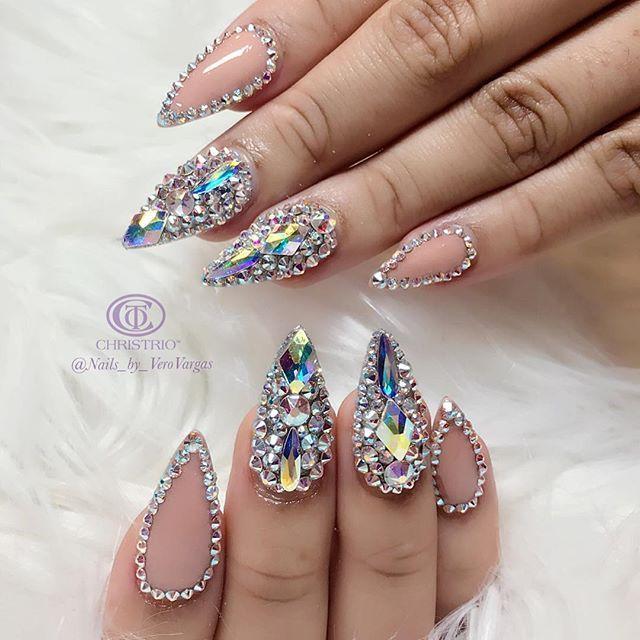 628 best nails images on pinterest nails design nail art and hot nails swag nails swarovski nails nail candy nail inspo acrylic nails 3d nails art acrylics nail art tutorials prinsesfo Choice Image
