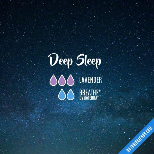 Deep Sleep - Essential Oil Diffuser Blend