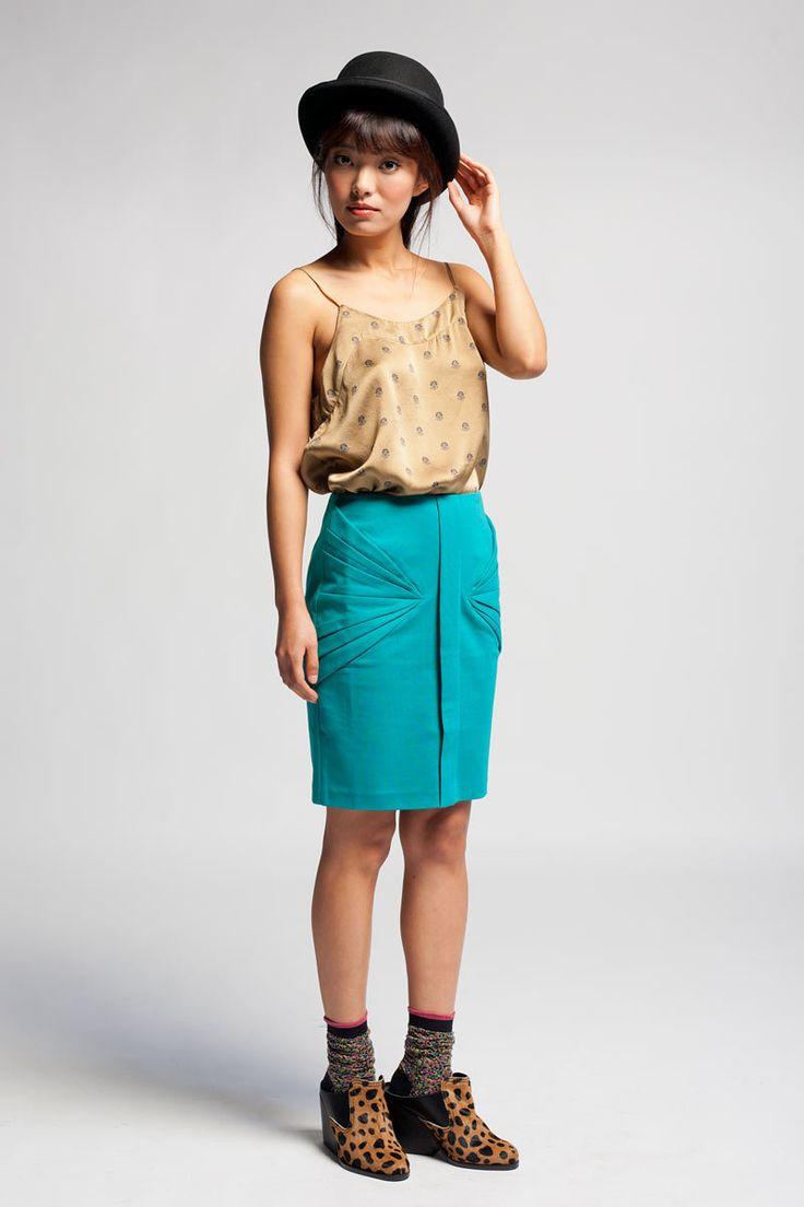Арын К Джейд Оригами юбка - Кошка - Мода. Тенденции. Бутик.
