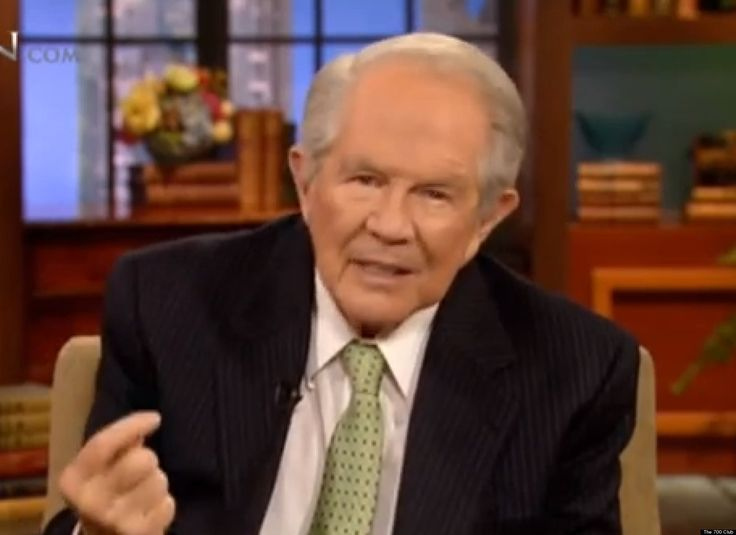 "Pat Robertson recently attempted to explain why more miracles seem to happen for ""simple, humble"" foreigners than for Americans, and he said it has to do with evolution."