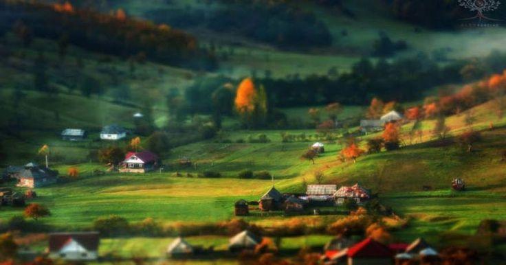Φωτογραφίες από «παραμυθένια» τοπία στην επαρχία της Ρουμανίας