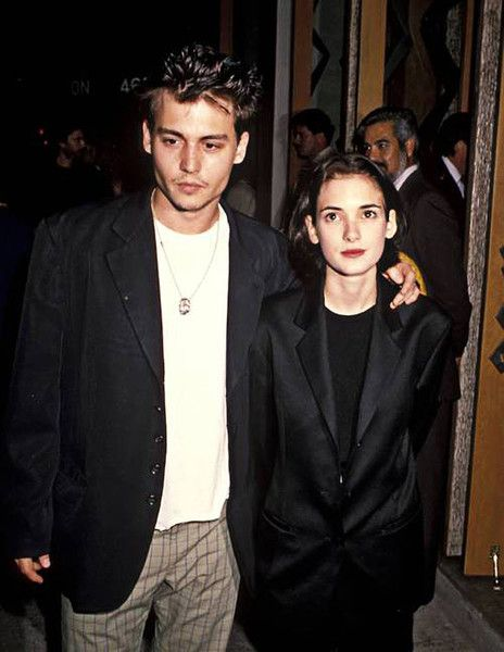 1993: Winona Ryder & Johnny Depp - The Most Tragic Celebrity Breakups Over the Years - Photos