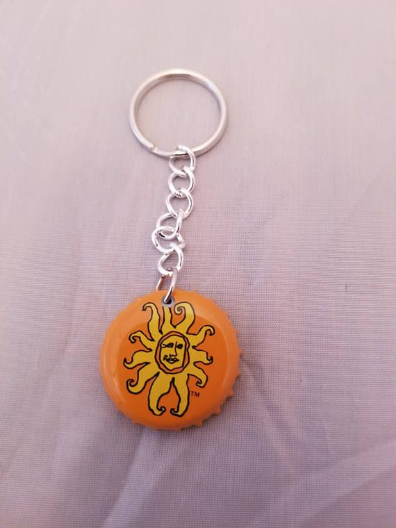 Check out this item in my Etsy shop https://www.etsy.com/listing/547715637/oberon-beer-cap-keyring