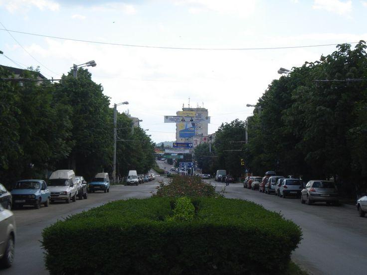 Orasul Vaslui, Romania.