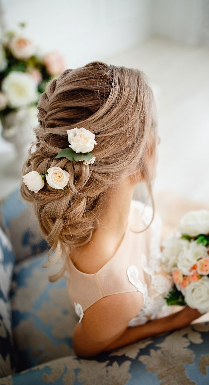 Bridal hairstyle braided? 35 creative ideas