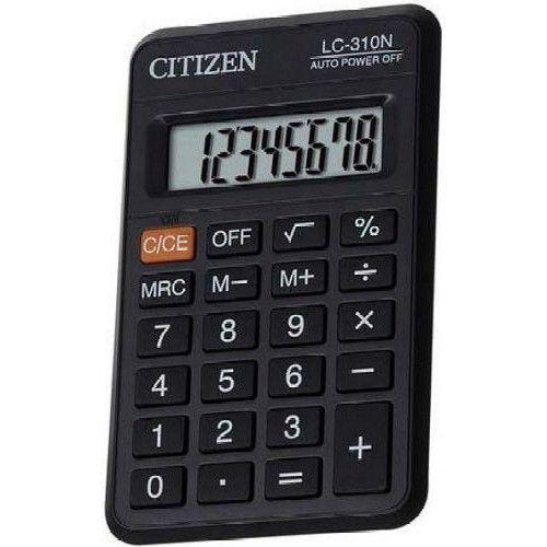 Zsebszámológép 8 számjegyes, nagy kijelzővel Citizen LC-310N - Számológépek Ft Ár 799