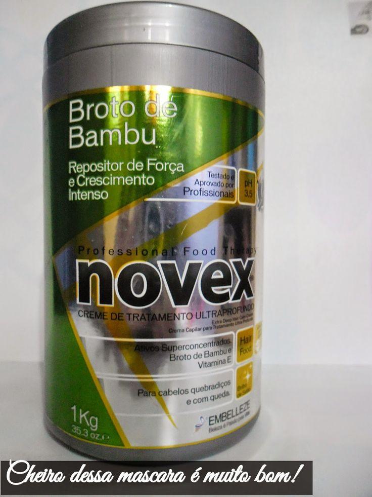 mascara novex | Mascara Novex Broto de Bambú