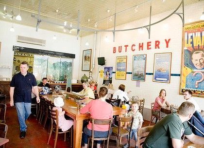 The Butcher Shop cafe in Mudgee.