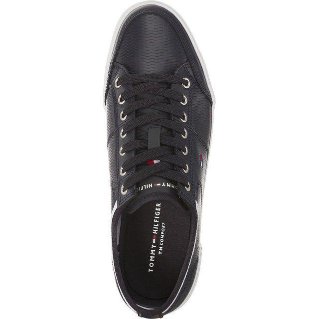 Polbuty Meskie Tommyhilfiger Czarne Tommy Hilfiger Core Corporate Leather 403 Superga Sneaker Tommy Hilfiger Sneakers