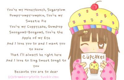 You Re My Honey Cake Sugar Plum