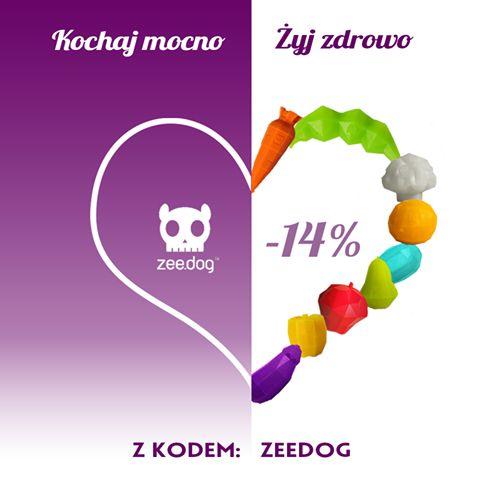 Promocja!  Walentynkowo od dziś do niedzieli.  Kod: zeedog  http://toys4dogs.pl/sklep,35,zee-dog.html
