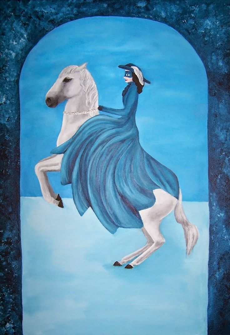 Hana Szarowski: Winter coming on horse and completed series 'Four ...