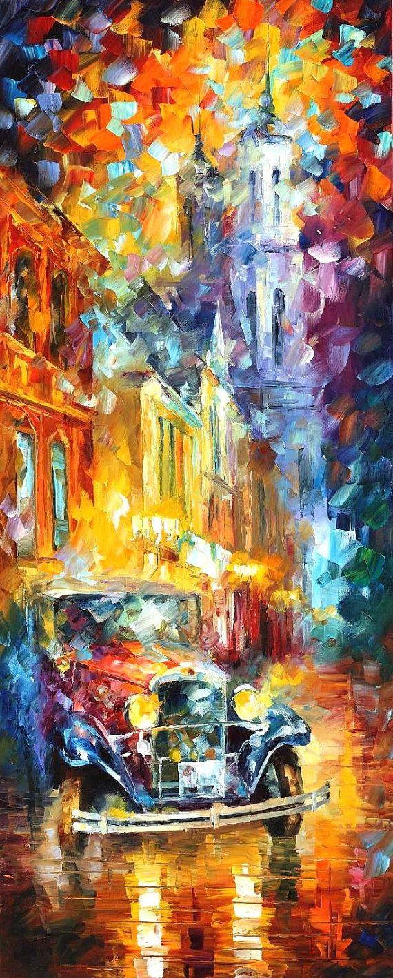 Vintage Soul 2 — PALETTE KNIFE Oil Painting On Canvas By Leonid Afremov