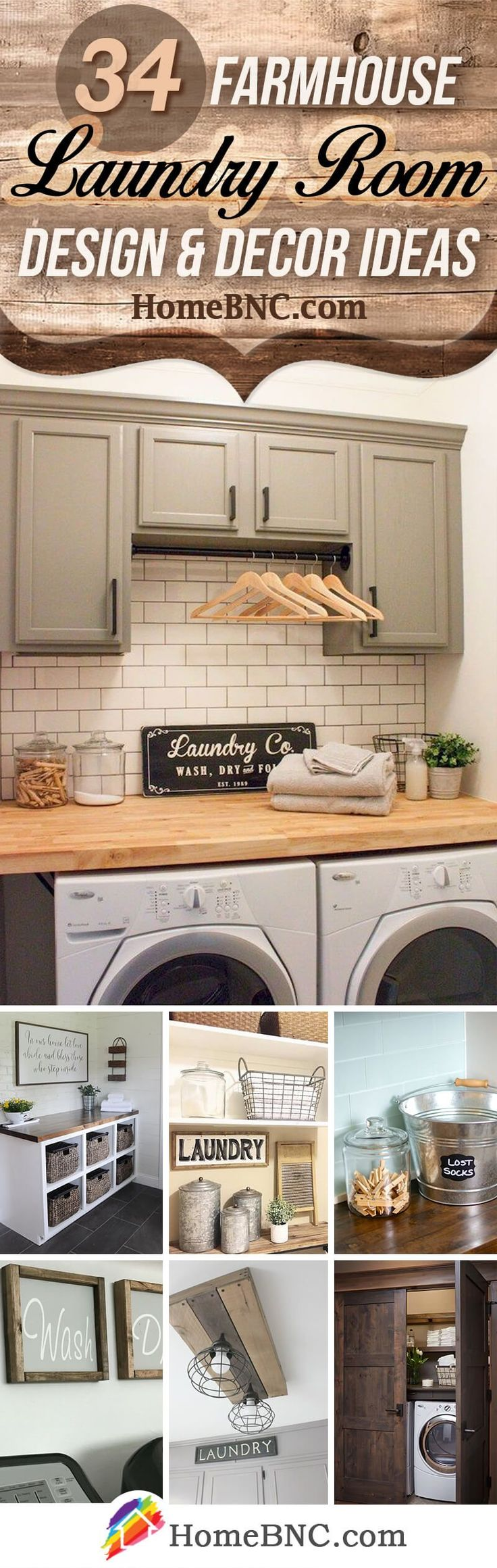 Farmhouse Laundry Room Decor Ideas 831 best