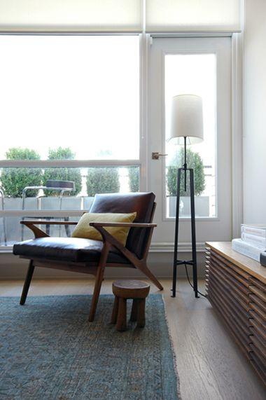 . Nivek Remas . Residential . Living Room . Dupont Loft . Toronto .