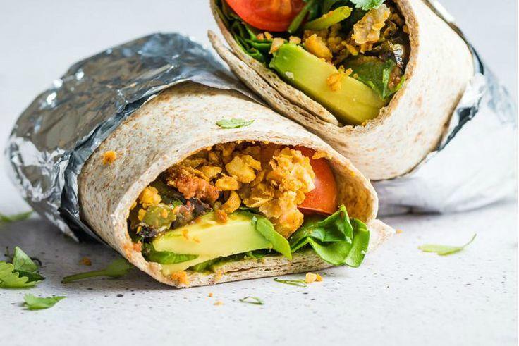 Houd je van een stevig ontbijt? Dan moet ontbijten op z'n Mexicaans-Amerikaans. Deze vegetarische mexicaanse burrito's zijn om je vingers bij af te likken!