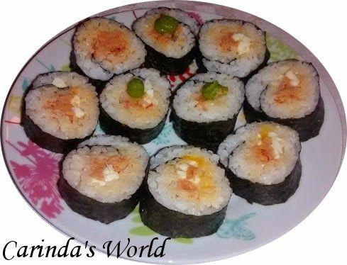 Sushi. Io ci provo. | Carinda's World