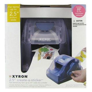Xyron Create A Sticker Machine - 2.5 inch