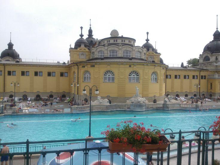 Széchenyi bath is a miracle