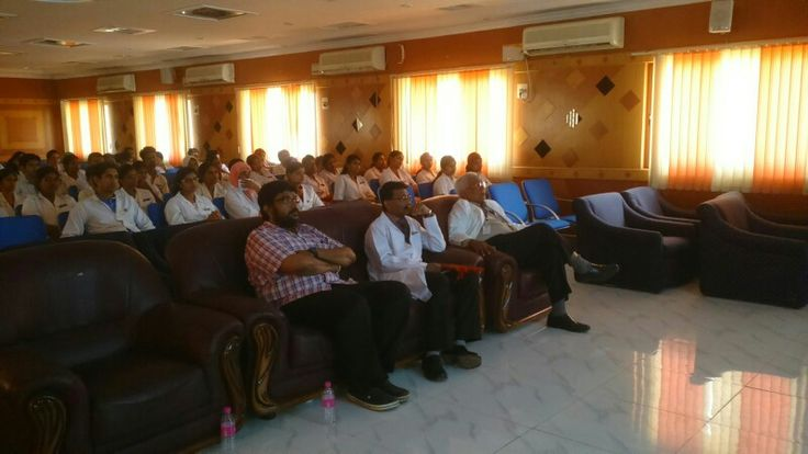 My guest lecture on dental sleep medicine at Thayi Mugambica dental college Chennai