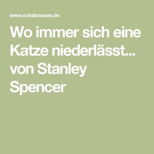 Wo immer sich eine Katze niederlässt... von Stanley Spencer