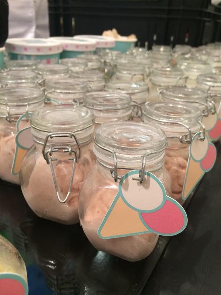Delicious jars of 2 Scoops ice cream!!